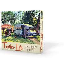 Kids Camping, Trailer Life Puzzle