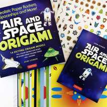 Crafts for Kids :Air and Space Origami Kit: Realistic Paper Rockets, Spaceships and More!