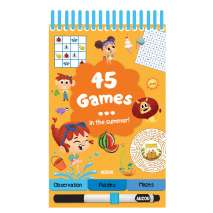 Activity Books :45 Games: In the Summer