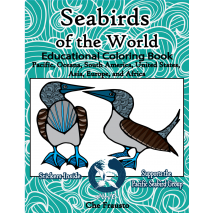 Coloring Books :Seabirds of the World Educational Coloring Book: Pacific