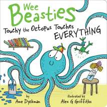 Fish, Sealife, Aquatic Creatures, Touchy the Octopus Touches Everything