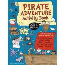Activity Books: Pirates, Pirate Adventure Activity Book