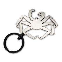 Magnets & Metal Art, King Crab KEYCHAIN BOTTLE OPENER