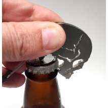 Bottle Openers & Keychains :Skull BOTTLE OPENER KEYCHAIN