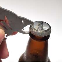 Bottle Openers & Keychains :Tough Fish BOTTLE OPENER KEYCHAIN