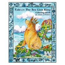 Folktales, Myths & Fairy Tales, Tales for the Sea Lion King Coloring Book