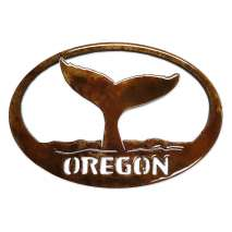 Oregon, Whale Tail w/Oregon MAGNET