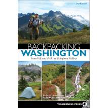 Washington Travel & Recreation Guides, Backpacking Washington: From Volcanic Peaks to Rainforest Valleys