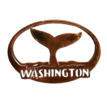Washington, Whale Tail Washington MAGNET