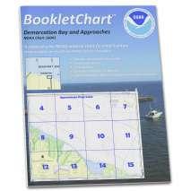 Alaska Charts :NOAA Booklet Chart 16041: Demarcation Bay and approaches