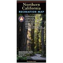 California Travel & Recreation :Northern California Recreation Map