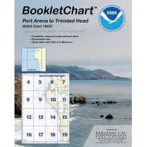 Pacific Coast Charts :NOAA BookletChart 18620: Point Arena to Trinidad Head with MARINE PROTECTED AREAS Highlighted