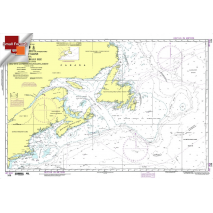 """Miscellaneous International :NGA Chart 109: Gulf Of Maine To Str.Belle Isle Int.404, Approx. Size 21"""" x 31"""" (SMALL FORMAT WATERPROOF)"""