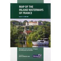 Europe & the UK :Map of Inland Waterways of France