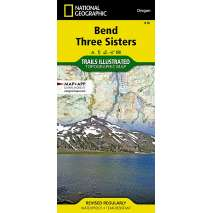 Oregon Travel & Recreation Guides :National Geographic Trails Illustrated: Bend, Three Sisters