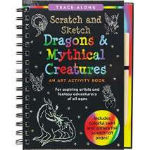 Monsters, Zombies, etc. :Scratch & Sketch Dragons & Mythical Creatures