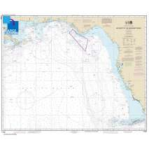 Gulf Coast Charts :Large Format NOAA Chart 11006: Key West to Mississippi River