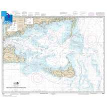 Atlantic Coast Charts :Large Format NOAA Chart 13237: Nantucket Sound and Approaches