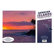 Pacific Coast Charts :Hawaiian Islands Chart Atlas (12x18 Spiral-Bound)