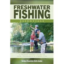Fish & Sealife Identification Guides :Freshwater Fishing Essentials: A Folding Pocket Guide to Gear, Techniques & Useful Tips