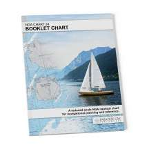 NGA BookletCharts :NGA BookletChart 24: Great Circle Sailing BookletChart of South America