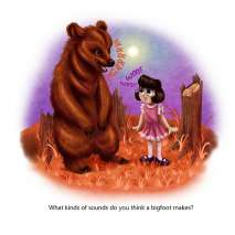 Bigfoot for Kids :How Big is Bigfoot?