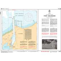 Central and Arctic Region Charts :CHS Chart 2044: Port Dalhousie