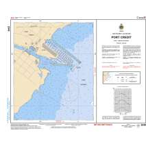 Central and Arctic Region Charts :CHS Chart 2048: Port Credit
