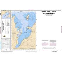 Central and Arctic Region Charts :CHS Chart 2223: Port McNicoll and/et Victoria Harbour
