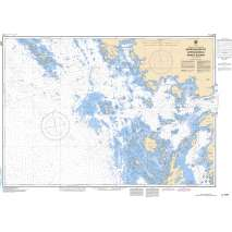 Central and Arctic Region Charts :CHS Chart 2225: Approaches to/Approches à Parry Sound