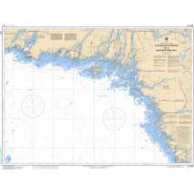 Central and Arctic Region Charts :CHS Chart 2244: Alexander Passage to/à Beaverstone Bay