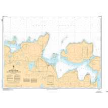 Central and Arctic Region Charts :CHS Chart 2258: Bayfield Sound and Approaches/et les approches