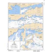 Central and Arctic Region Charts :CHS Chart 2268: Plans North Channel