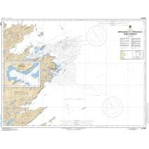 Central and Arctic Region Charts :CHS Chart 5340: Approach to/ Approches à Sorry Harbor