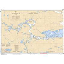 Central and Arctic Region Charts :CHS Chart 6038: West Bay to/à West Arm