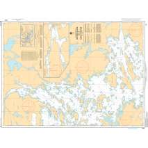 Central and Arctic Region Charts :CHS Chart 6107: Hostess Island to/à Devils Cascade