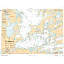 Central and Arctic Region Charts :CHS Chart 6108: Fort Frances to/à Hostess Island and/et Sandpoint Island