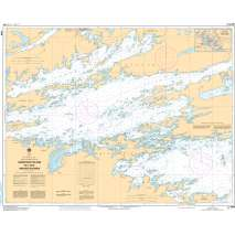 Central and Arctic Region Charts :CHS Chart 6109: Sandpoint Island to/aux Anchor Islands