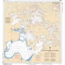 Central and Arctic Region Charts :CHS Chart 6201: Lake of the Woods / Lac des Bois