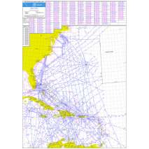 Planning Charts :FAA Chart: Western Atlantic Route System Chart (Full Size)