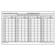 NOAA Charts for U.S. Waters :Chart Correction Cards NIMA Form 8660-9 (100 pack)