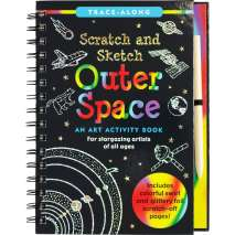 Activity Books: Space :Scratch & Sketch Outer Space