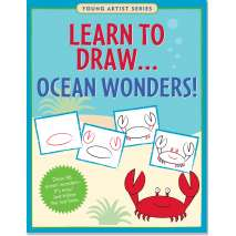 Drawing Books :Learn To Draw Ocean Wonders!