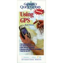 Boathandling & Seamanship, Captain's Quick Guides: Using GPS (Laminated Folding Guide)