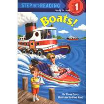 Young Readers, Boats: Step into Reading
