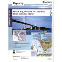 Sea Trail Maps, Sea Trails Map:  Suisun Bay, Grizzly Bay, Carquinez Strait to Bethel Island