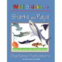 Stickers & Magnets, Wild Stickers: Sharks & Rays