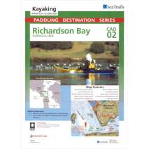 Sea Trail Maps, Sea Trails Map: Richardson Bay