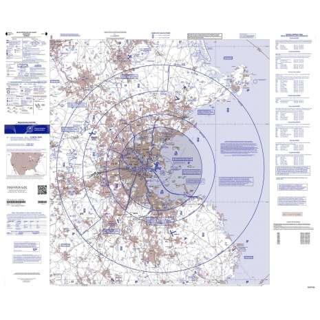VFR: Helicopter Route Charts, FAA Chart: VFR Helicopter BOSTON