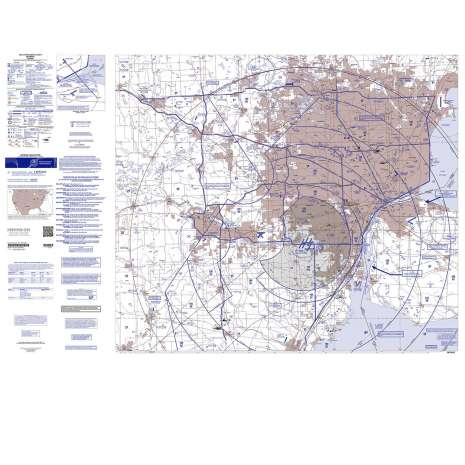 VFR: Helicopter Route Charts :FAA Chart: VFR Helicopter DETRIOT
